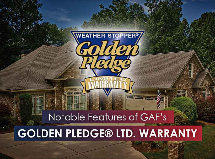 Notable Features of GAF's Golden Pledge® Ltd. Warranty